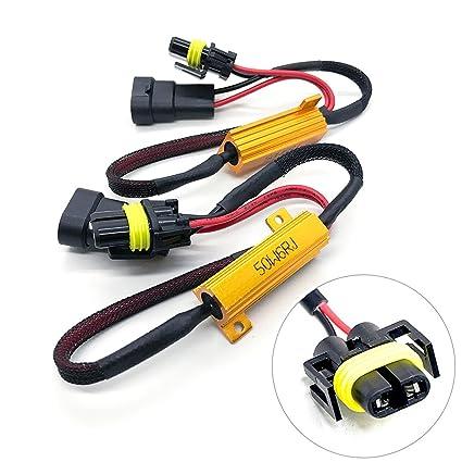 71i2FjgOgtL._SX425_PIbundle 2TopRight00_AA425SH20_ amazon com o nex hid led resistor kit h11 (h8, h9) relay harness