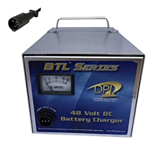 48volt 15amp Golf Cart Power Supply charger with Club car 3-pin round connector
