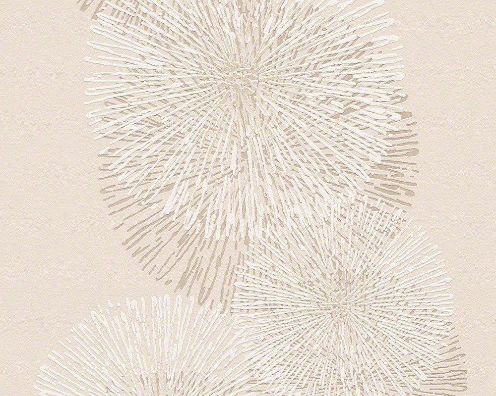 schner wohnen vliestapete mit glitter tapete floral modern 1005 m x 053 m beige creme metallic made in germany 943592 94359 2 amazonde baumarkt - Tapete Schlafzimmer Beige