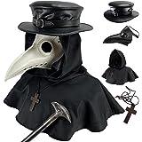 Absolute Vibe Conjunto de máscara de pájaro y sombrero de peste para disfraz de Halloween Steampunk Cosplay Props
