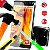 *** INCASSABLE A&D®*** FILM PROTECTION Ecran en VERRE Trempé pour SONY XPERIA C5 filtre protecteur d'écran INVISIBLE & INRAYABLE vitre SOLIDE pour Smartphone 3G 4G Xpéria C 5 ULTRA DUAL SIM