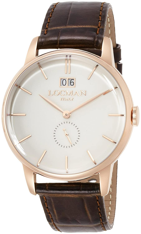 [ロックマン]LOCMAN クオーツ 2針 1960コレクション 60年代イタリアンデザイン 0252V10-RGAVRGPT 【正規輸入品】 B01N97FG8K