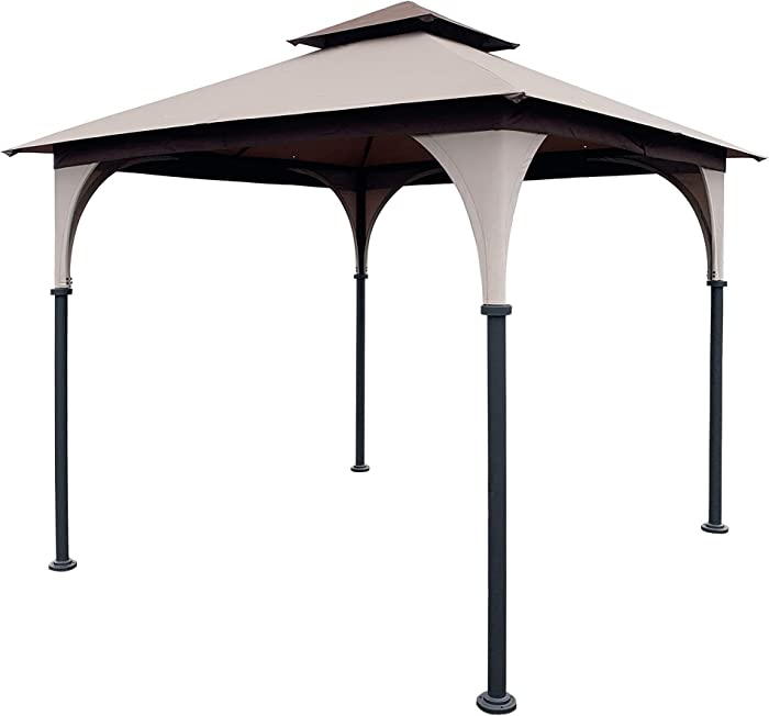 The Best 8X8 Ft Garden Canopy Gazebo Replacement Top