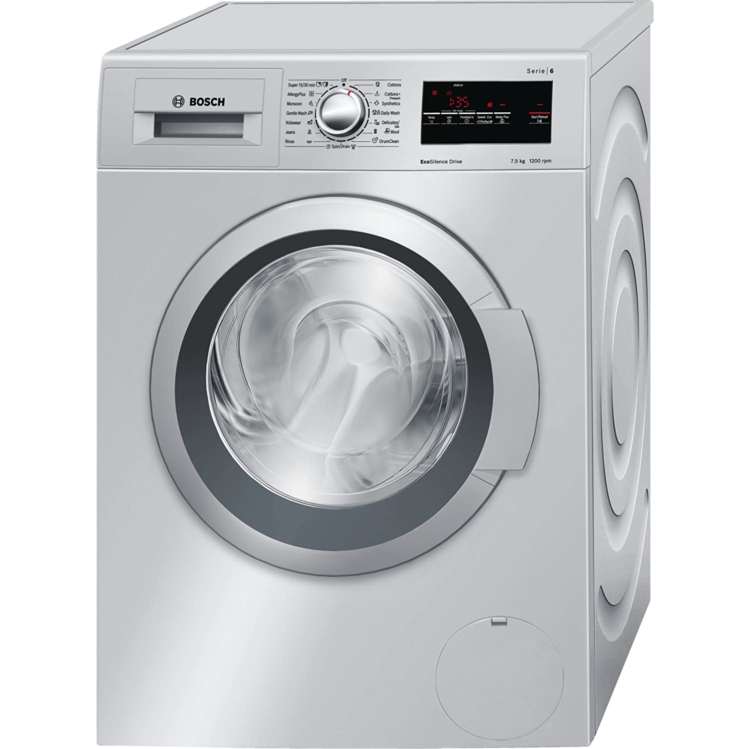 Bosch WAT IN Fully automatic Front loading Washing Machine 7 5