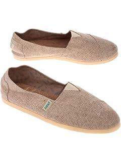 PAEZ Mens Alpargatas Canvas Alpargatas Slip-on Casual Cloth Shoes Flat Loafer Combi