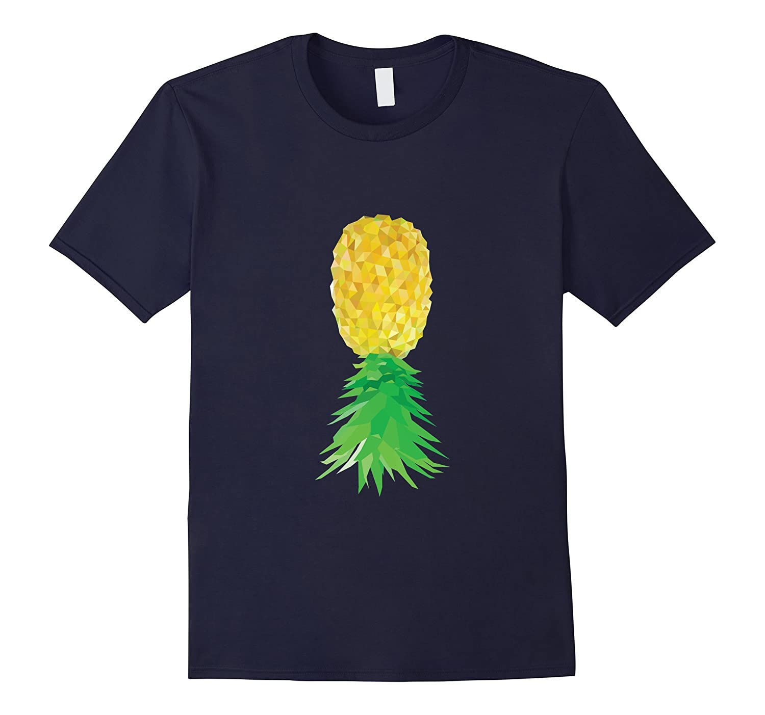 Upside Down Pineapple Shirt - Adult Swingers Tee-TH