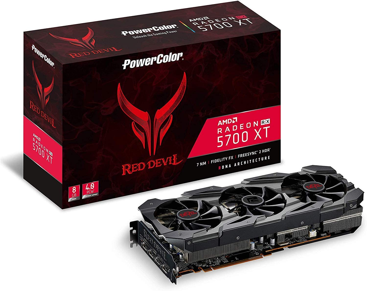 Mint Condition! RX 580 8GB GDDR5  PowerColor Red Devil Radeon