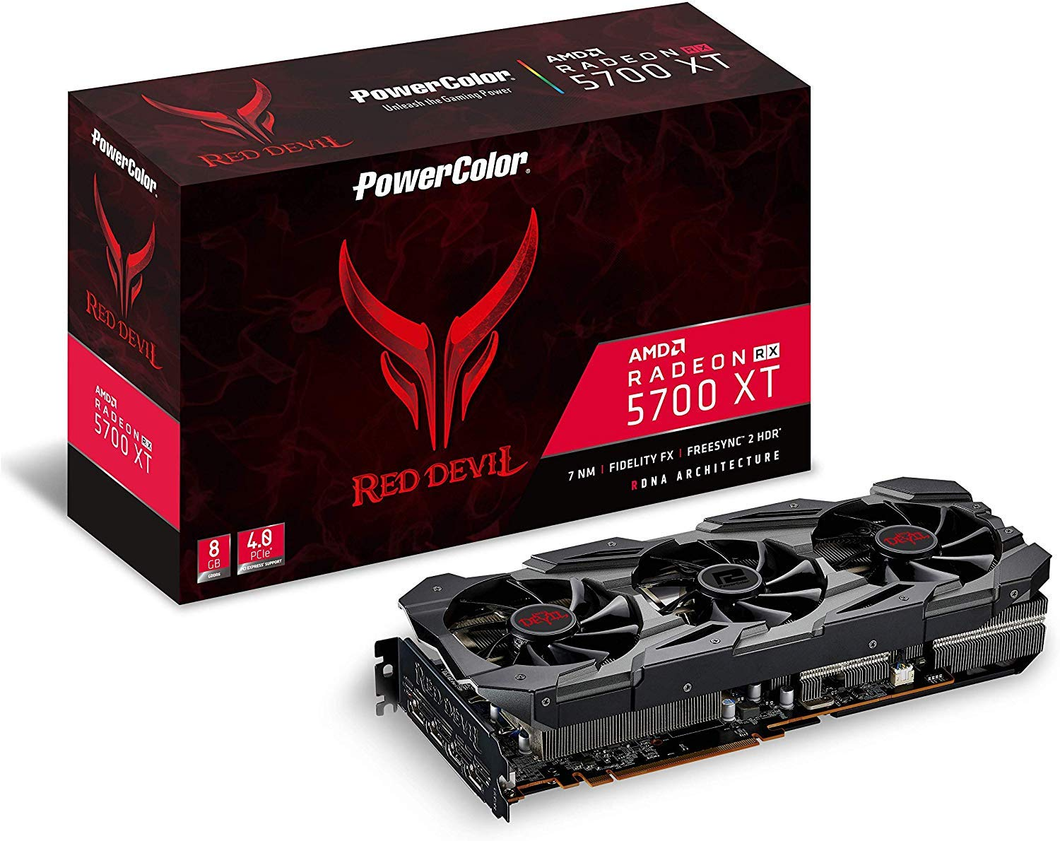 PowerColor Red Devil Radeon RX 5700 XT 8GB GDDR6 Graphics Card
