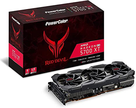 PowerColor AMD Radeon RX 5700 XT Red Devil 8GB GDDR6 HDMI ...