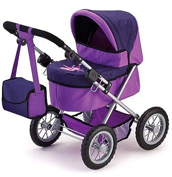 Amazon.es: Bayer Design Cochecito de muñeca, Trendy Color lila 13012: Juguetes y juegos