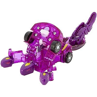 Mecard Geryon Deluxe Mecardimal Figure, Purple: Toys & Games