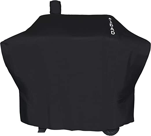 Amazon.com: i COVER Smoker Grill Cover Sized for Char-Griller Charcoal Grill 2190 Heavy Duty Waterproof Patio 600D Canvas Barbeque BBQ Grill Cover: Kitchen & Dining