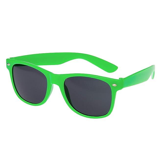 Verde Gafas de Sol Estilo Clásico Para Adultos UV400 Tonos Mujer Calidad Superior Unisex Hombres 100% Protección UV Montura Con Borde la Moda