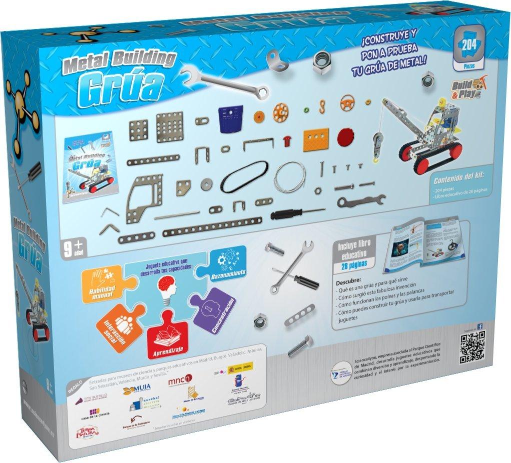 Amazon.com: Metal Building grua: Toys & Games