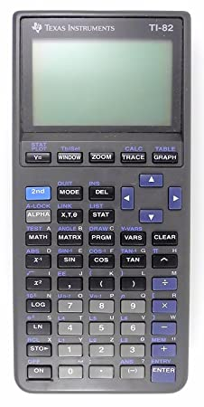 Texas Instruments TI-82 Graphing Calculator by Texas Instruments Graphing at amazon