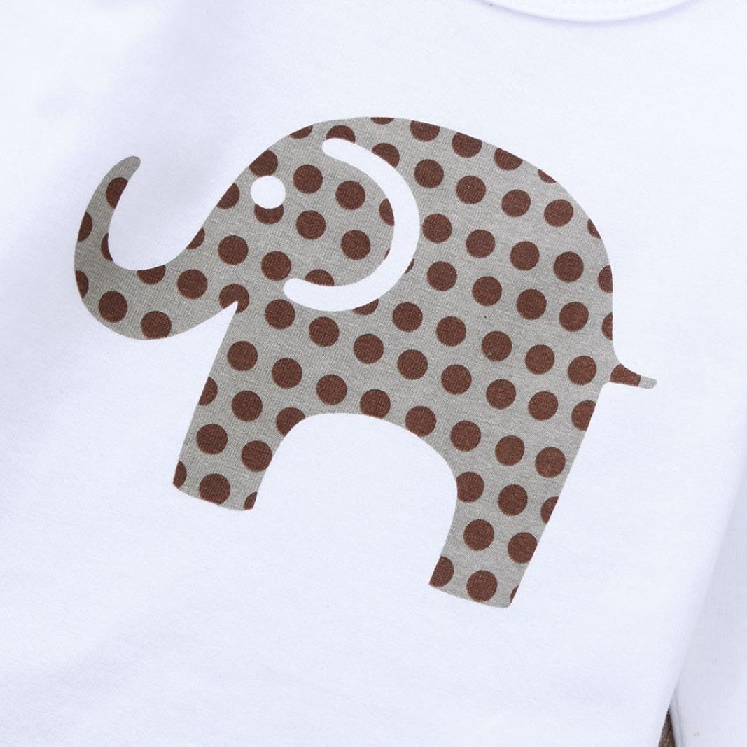 Amazon.com: WARMSHOP Juego de ropa de 2 piezas, para bebés ...
