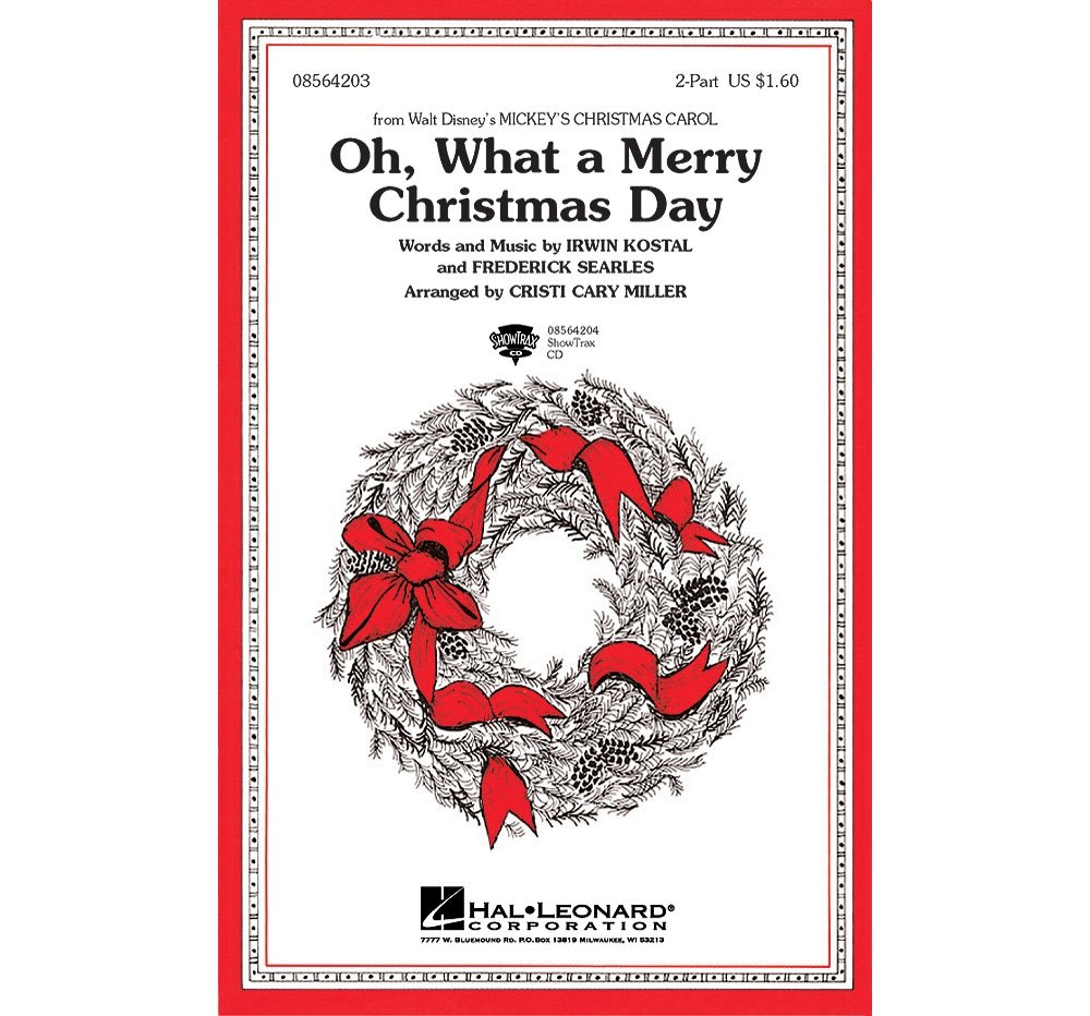 Amazon.com: Hal Leonard Oh What a Merry Christmas Day (from Mickey\'s ...