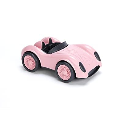 Green Toys Race Car-Pink: Toys & Games