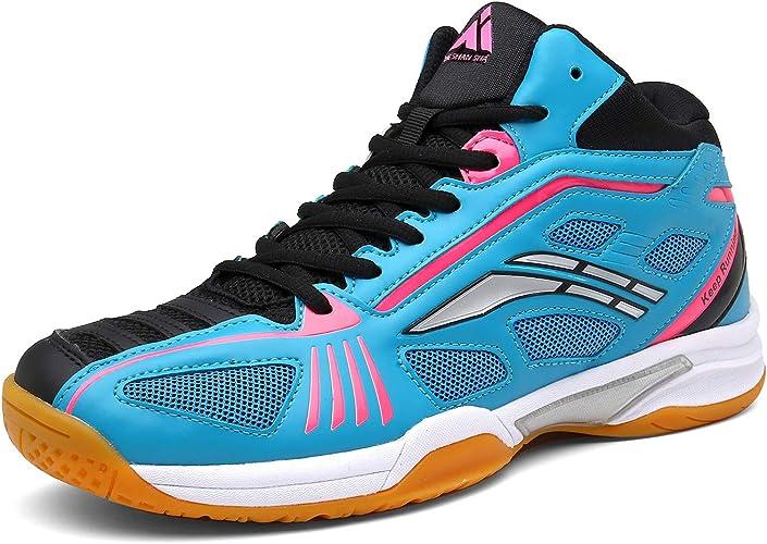 Men/'s Badminton Tennis Shoes Table Tennis Athletic Sneakers Training Shoes Sz