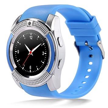 Kivors Relojes Inteligentes, Impermeable Bluetooth Smartwatch ...