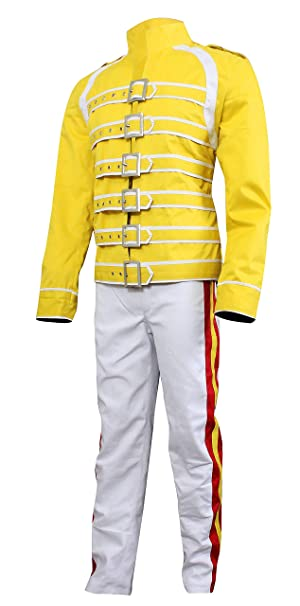 LP-FACON Freddie Mercury Cotton Jacket Queen Wembley Concert Tribute Costume