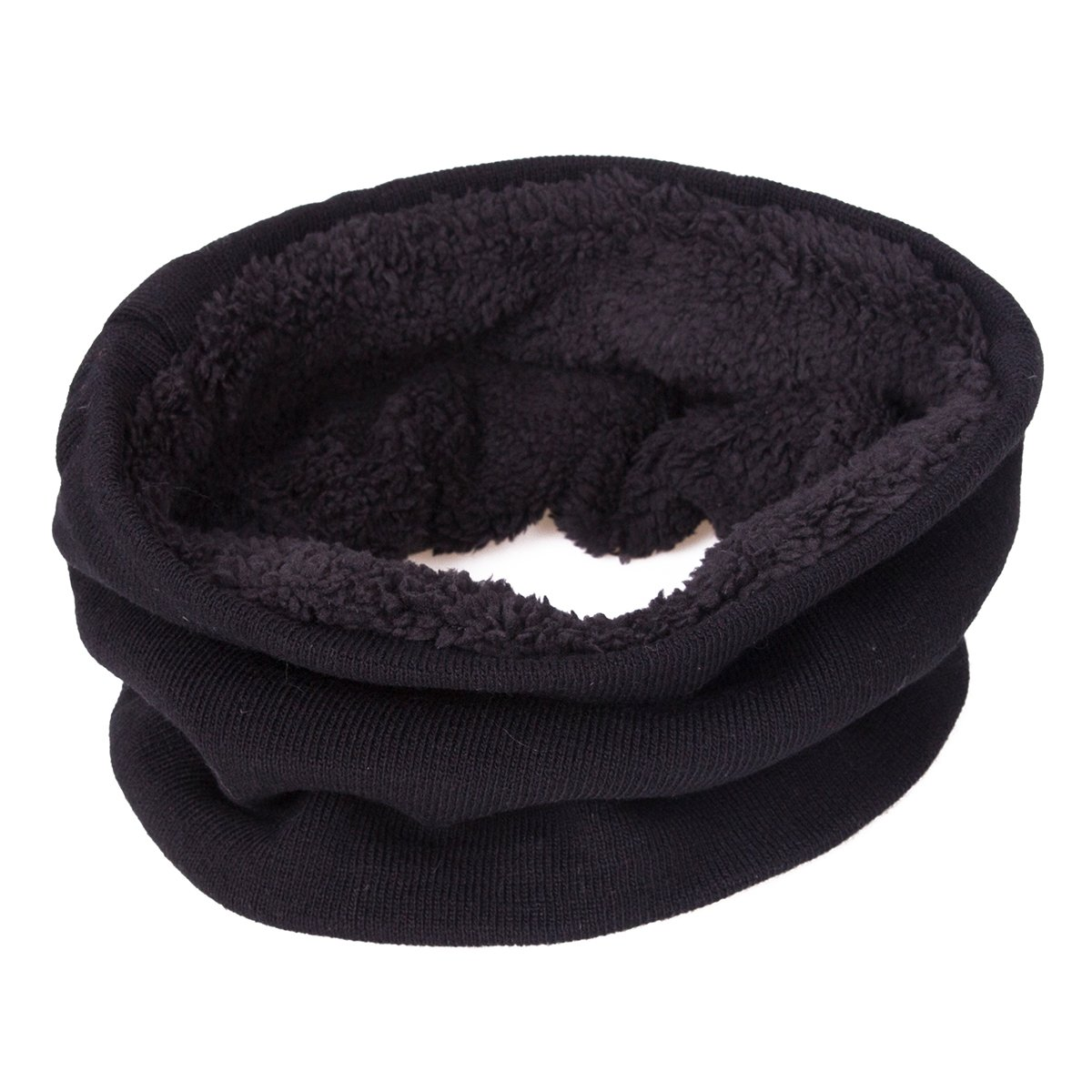 EVRFELAN Winter Warm Hat Beanie thick infinity Scarf Smart Touch screen Texting Gloves (Black) by EVRFELAN (Image #3)
