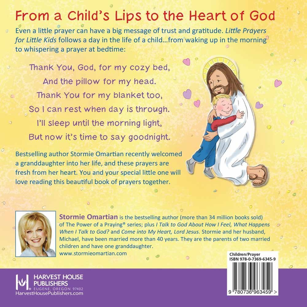 Little Prayers for Little Kids (The Power of a Praying® Kid): Stormie  Omartian, Shari Warren: 9780736963459: Amazon.com: Books