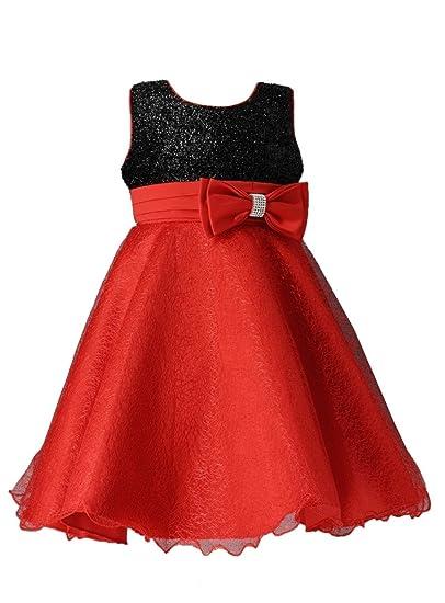 a05dee75d56 Boutique-Magique Robe de noël pour Enfant - Robe de soirée Fille - Robe  Mariage