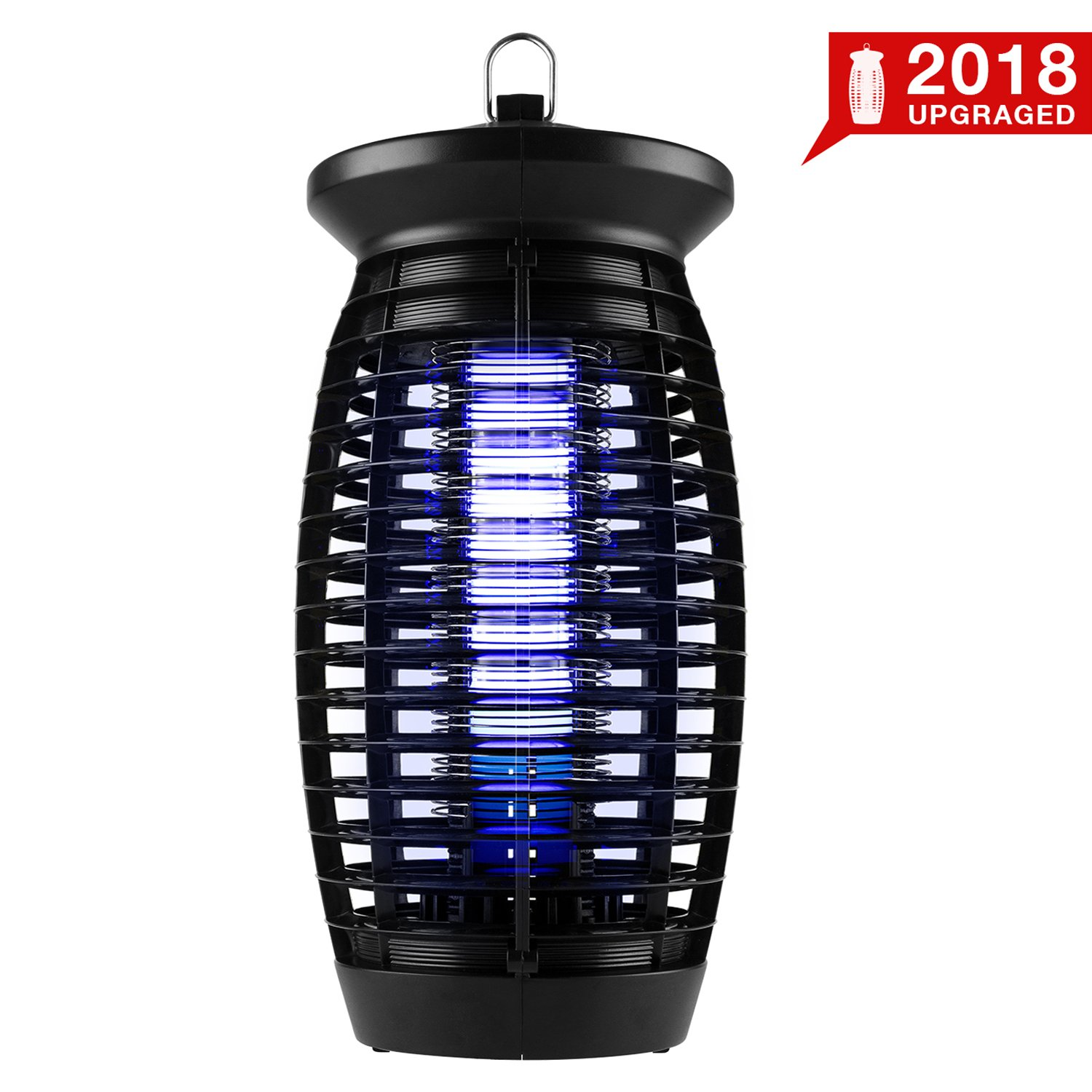 2018 Upgraded Electric Bug Zapper, Insect Killer, Mosquito Trap, Fly Gnat Trap with 120V UV Bug Light/500 Sq Ft Coverage for Home Office Store Indoor