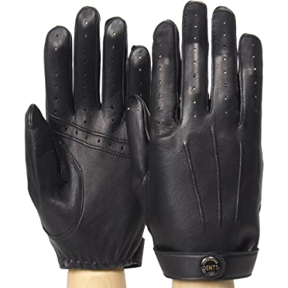 Dents Fleming James Bond Spectre Leather Driving Gloves 15-1007