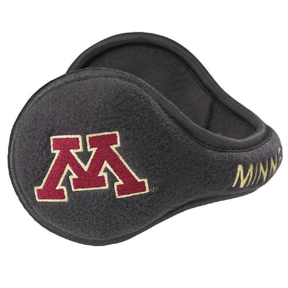 Degrees By 180s NCAA Minnesota Gophers Collapsible Behind-The-Head Fleece Winter Ear Warmer, Unisex, One Size Fits Most