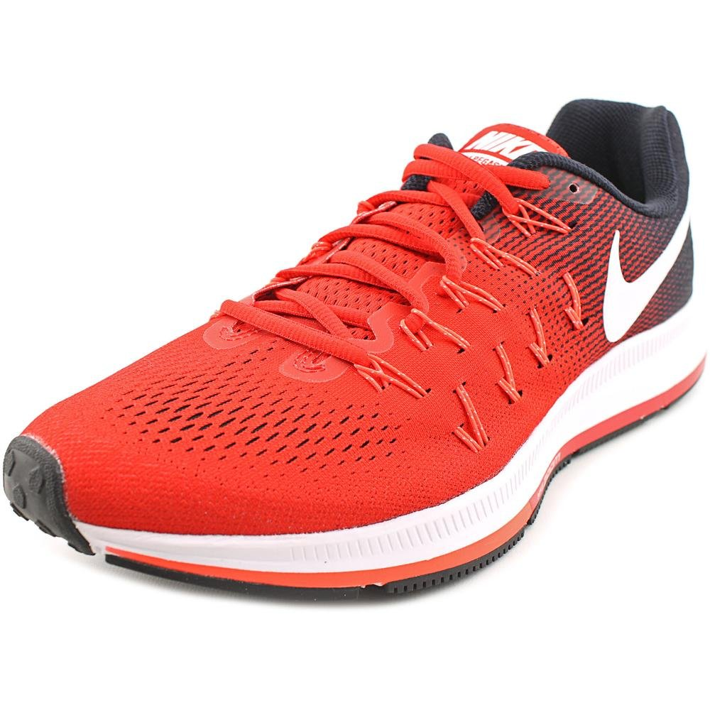 Nike Men's Air Zoom Pegasus 33 B019DG0BKA 8 D(M) US|University Red/White/Black