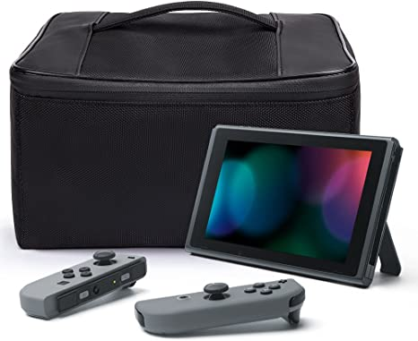 Nintendo Switch Bolsa, iDudu Storage Bag Funda de viaje para ...