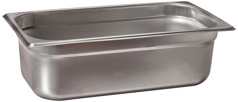 Winco SPJL-304 Anti-Jam 1/3 Size Pan, 4-Inch