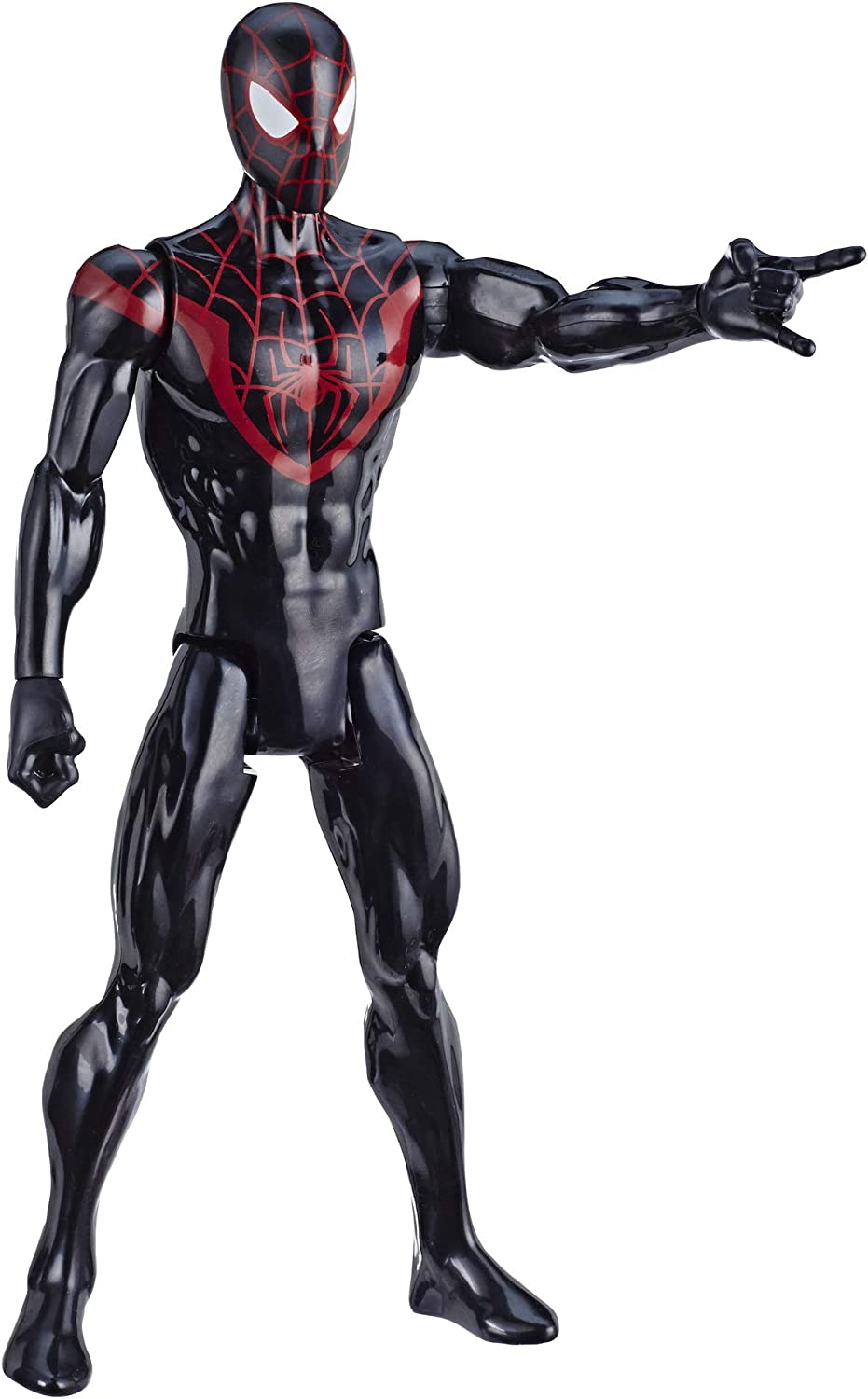 "Spider-Man Marvel Titan Hero Series Mile Morales 12""-Scale Super Hero Action Figure Toy Great Kids for Ages 4 & Up"