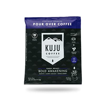Amazon com : Kuju Coffee Premium Single-Serve Pour Over