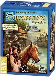 Devir- Carcassonne: Posadas y catedrales (BGCARPO): Amazon