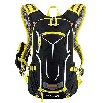 Ezyoutdoor mochila de 18 litros, de material transpirable y resistente al agua, para ciclismo