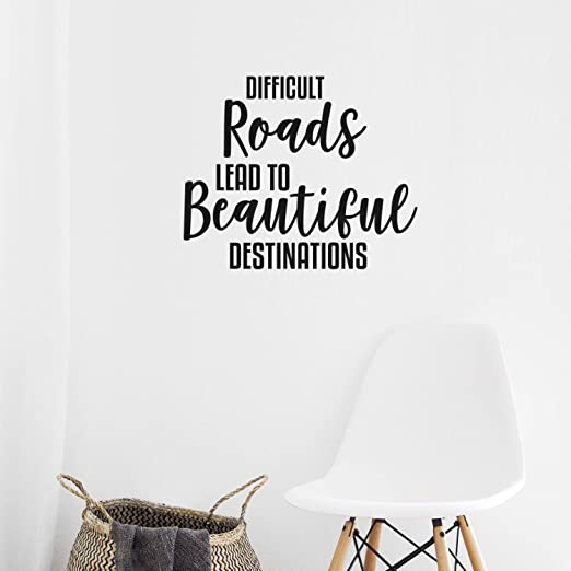 The best place to be together Decor vinyl wall decal quote sticker Inspirational