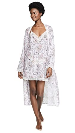 76931430f4b35d Cosabella Women s Eleganza Robe at Amazon Women s Clothing store