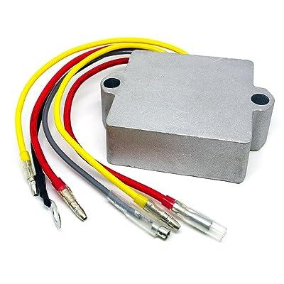 CBK Voltage Regulator Rectifier TRR3072 for Mercury Mariner Outboard 6-Wire 815279-3 883072T 815279-5 815279T 830179-2: Automotive