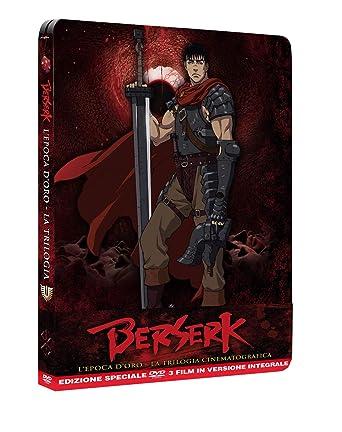 Berserk trilogy steelbook ita (collectors edition) (3 blu ray) - anche in dvd B07JJK88F3