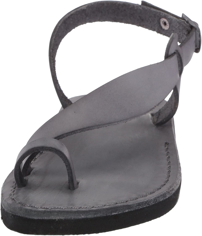 Jerusalem Sandals Womens 524 Mia Bronze Size: Grey