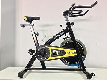 VITAL GYM X6 Bicicleta de Spinning, Adultos Unisex, Multicolor ...