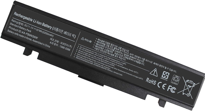 AA-PB9NC6B AA-PB9NC6W NP300E5A NP350V5C NP305E5A NP300E5E Laptop Battery for Samsung R480 R540 R580 R428 RV510 RV511 RV520 RV711 RF511 RF711 RC512 Q430 AA-PB9NS6B AA-PB9MC6B