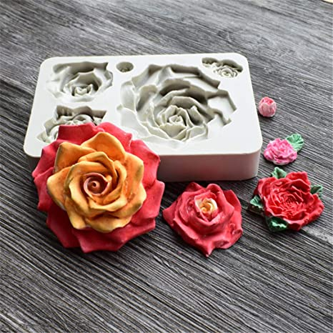 Amazon.com: Molde de flores Runloo: Kitchen & Dining