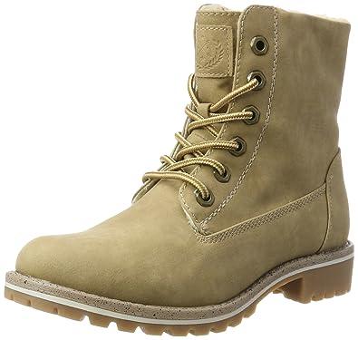 Jane Klain Damen 253 529 Combat Boots, Schwarz (Black), 41 EU