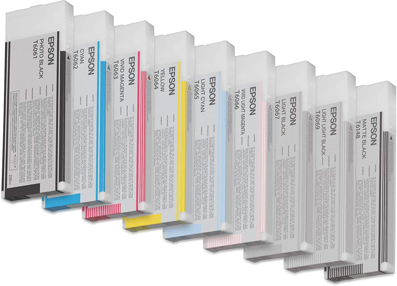 Epson T6069 Tintenpatrone Singlepack Hell Hell Schwarz Bürobedarf Schreibwaren