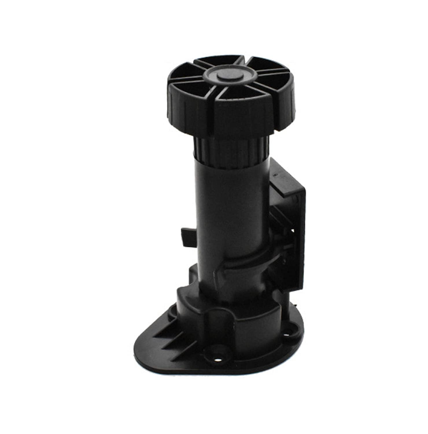 """Xntun 12 Pack Black Cabinet Leveler Legs Adjustable Furniture Legs Adjusts from 3-7/8"""" to 5-1/8"""", for Furniture, Cabinets Ect"""