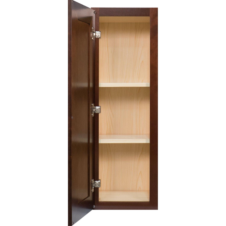 Amazon Everyday Cabinets 9 Inch Single Door Wall Cabinet in Leo